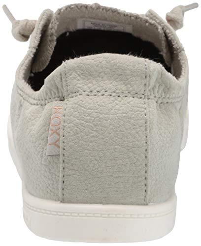 Roxy Women's Bayshore Slip on Shoe Sneaker, Sage 20, 9.5 M US