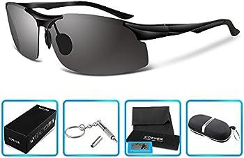 COSVER 8003 Men's Sports Style Polarized Sunglasses