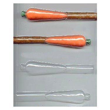 Carrot Pretzel Pop Candy Mold (Chocolate Pretzel Rod Candy Mold)