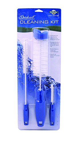 PetSafe Drinkwell Dog and Cat Water Fountain Cleaning Kit, 3 Brushes