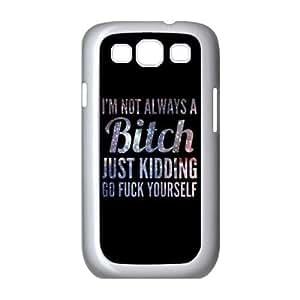 New Fashion Cover Case for Samsung Galaxy S3 I9300 with custom Fuck Kimberly Kurzendoerfer