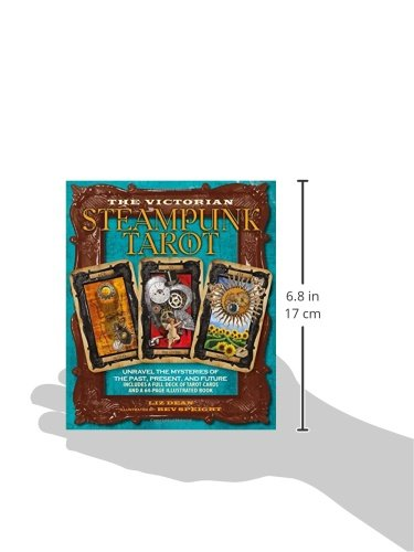 Victorian Steampunk Tarot: Unravel the mysteries of the past, present, and future 5