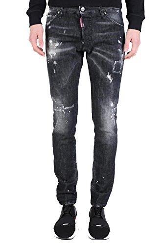 Dsquared2 Homme S71LB0249S30357900 Noir Coton Jeans