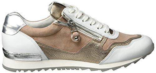 Sneaker Runner Kennel E Schmenger Ladies Multicolore (bianco / Rosé-oro Suola Bianca)
