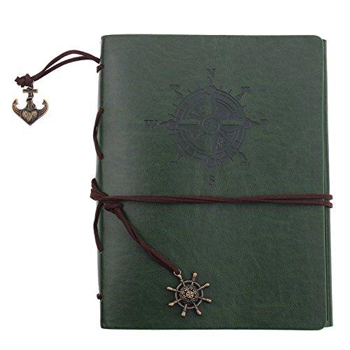 (Dark Green) - Litop DIY Photo Album Scrapbook Notebook Handmade Vintage Wedding -Black 60 Pages B06XYP1LVP ダークグリーン