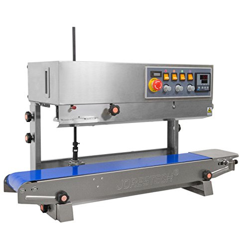 JORESTECH Continuous Plastic Bag Band Sealing Date Sealer printer Machine (Stainless Steel) by JORESTECH