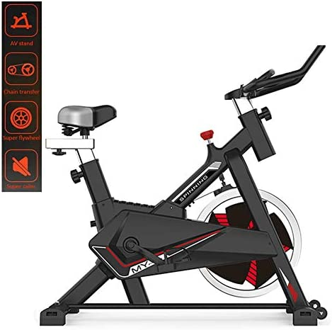MMZX Indoor Cycling Exercise Bike Cardio Spinning Bike,Home Exercise Bike Fitness Equipment,Sports Weight Loss Equipment,Bicycle Commercial Gym, for Home Workout,Musle 1