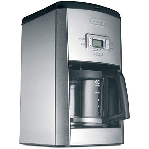 DeLonghi-14-Cup-Programmable-Drip-Coffeemaker-with-AromaButton-Pause-and-Serve-Feature-and-Built-In-Cup-Warmers-24-Hour-Digital-Timer