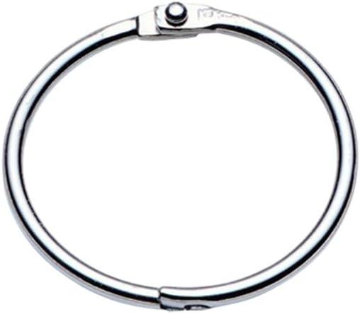 Aluminum LEOR09 Inc Multi-Purpose Rings Charles Leonard 1//2-Inch Diameter