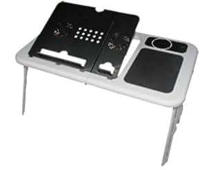 E-Stand LD09 W White/Black Laptop Table