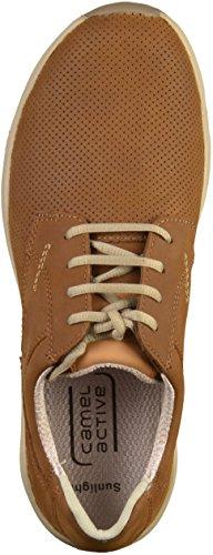 Cammello Attivo 523.11 Herren Sneakers Braun (legname)