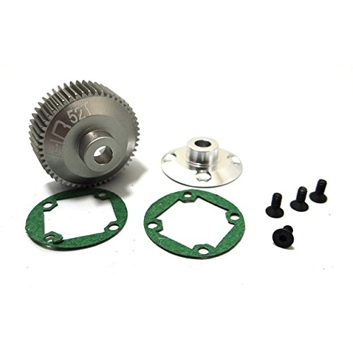 (Hot Racing SCT38XH Hard Anodized Aluminum Differential Gear and Cover B4/T4/SC10)