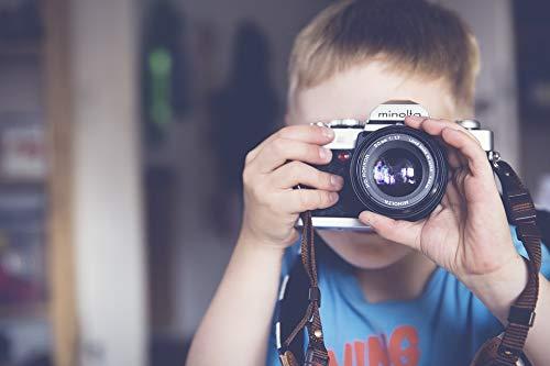Home Comforts Classic Child Boy Camera Minolta Lens Vivid Imagery Laminated Poster Print 24 x 36