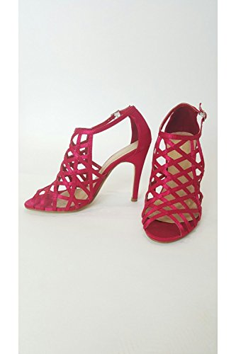 Vt Alta Collection In Strappy Vtl300 Scarpa amp; Red Di Pink Gabbia Lampone Verdon d5CwIpxaqd