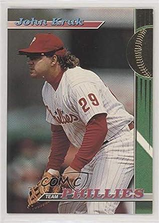 Amazoncom John Kruk Baseball Card 1993 Topps Stadium