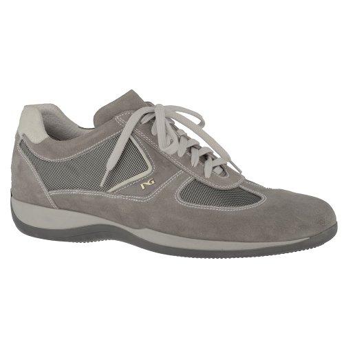 Nero Giardini Sneaker Uomo Camoscio/Tessuto P301722U/106 Camoscio Fumo