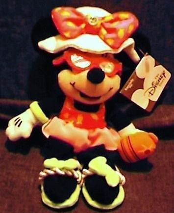Disney Mini Bean Bag August Birthstone Minnie Mouse 8