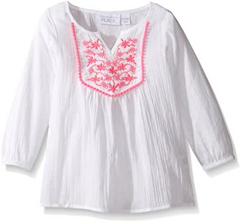 The Children's Place Baby-Girls' Sweet Li'l Embroidered Swim Cover-up