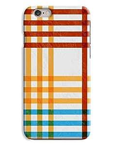 Chequered Crosshatch iPhone 6 Case