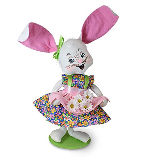 Annalee 12in Easter Parade Girl Bunny ()