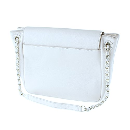 Bag New Handbag Tory 46176 Burch Flap Small Women's Ivory Shoulder Bombe wKBBpqHy67