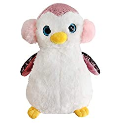Flip Sequin Stuffed Penguin Plush Toy