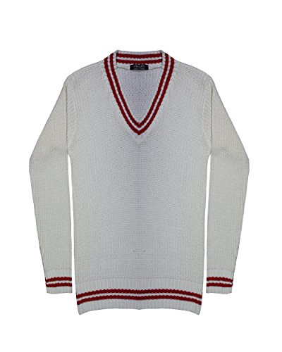 TOP VENDOR - Jerséi - suéter - Manga Larga - para mujer crema