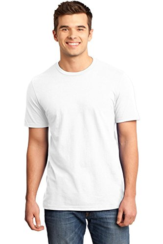 District Men's Young Very Important Tee M White