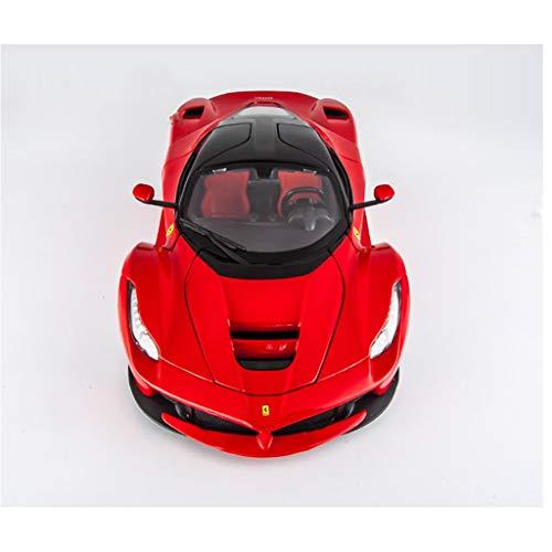 WSWJJXB Modelo Super Corriente de Ferrari 1:18 Modelo Deportivo con aleación de simulación, tamaño: 26X10X6.3cm por WSWJJXB
