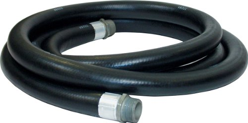 "Apache 98108480 1"" x 12' Farm Fuel Transfer Hose with Static Wire primary"