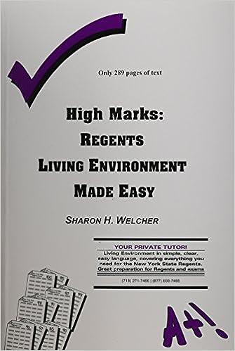 High Marks Regents Living Environment Made Easy Welcher Sharon 9780971466227 Amazon Com Books