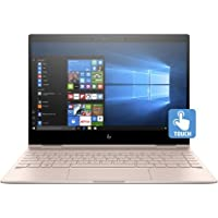 HP Spectre x360-13t Quad Core(8th Gen Intel i7-8550U, 1 TB PCIe NVMe SSD, 16GB RAM, IPS micro-edge Touchscreen Corning Gorilla, Windows 10 Ink)Bang & Olufsen 13.3 2-in-1 Convertible- Pale Rose