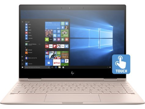HP Spectre x360-13t Quad Core(8th Gen Intel i7-8550U 1 TB PCIe NVMe SSD 16GB RAM IPS micro-edge Touchscreen Corning Gorilla Windows 10 Ink)Bang & Olufsen 13.3