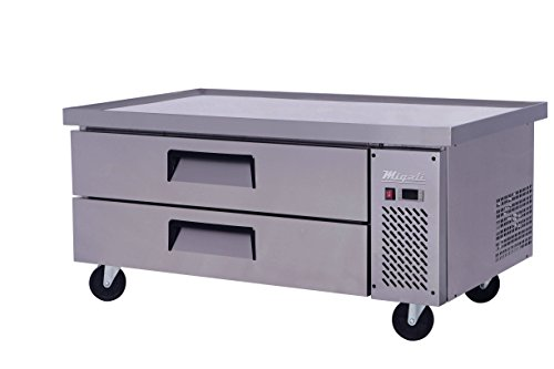 Refrigerated Base Chef Stand (Migali C-CB52-60-HC Competitor Series Refrigerated Equipment Stand, Chef Base, 60