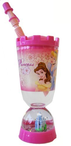 e13c649b789 Princess Tumbler With Snow Globe - Disney Princess Sipping Cup With ...