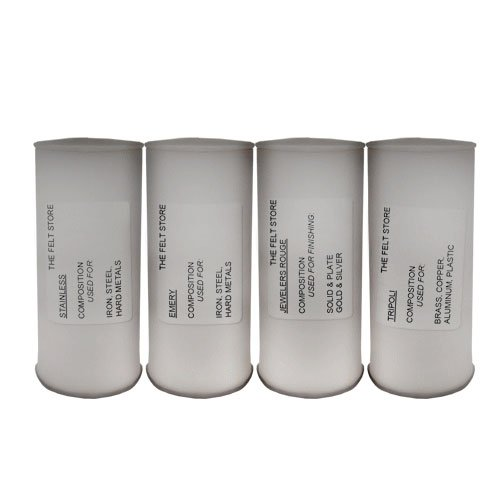 BUFFING COMPOUND 4 PACK