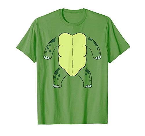 Awesome Easy Halloween Costume Ideas (Turtle Body Belly Costume Easy Halloween Shirt Gift Reptile)