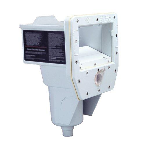 Lomart Industries 1-4315-006 Return Fitting Wall Skimmer, White