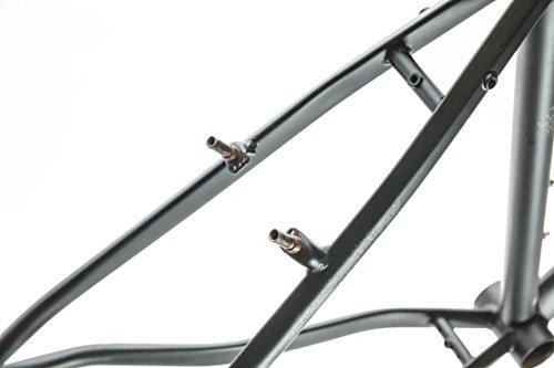 "17"" Marin Muirwoods 26"" Urban City Street Bike Frame Chromoly Steel Black NEW"