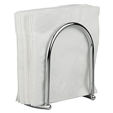 Home Basics Napkin Holder, Chrome Collection