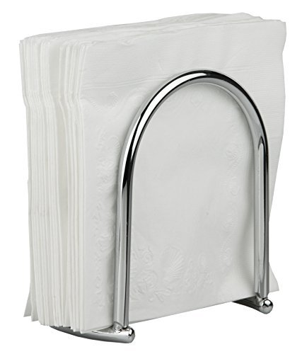 Home Basics Napkin Holder, Chrome Collection