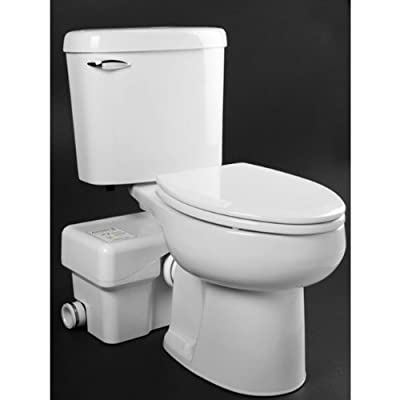 Liberty Macerating Toilet, Round, ½ HP