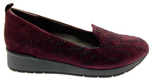 MELLUSO - Zapatos de vestir para mujer violeta burdeos