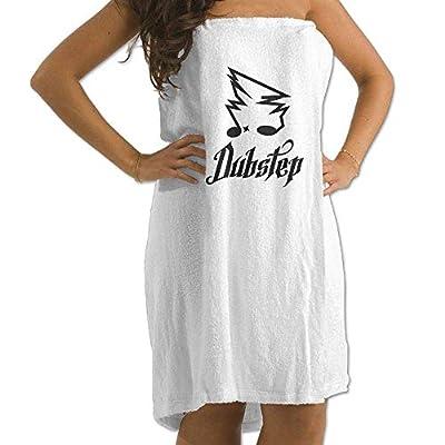 LXXYZ Dubstep Design Prints Bath Towel Wrap Womens Spa Shower Wrap Towels Swimming Shawl Bathrobe Cover Up Ladies
