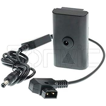 D-TAP a 12V DC 2.1 bloqueado Cable de alimentación para dispositivos de video Atomos Monitor//PIX-e