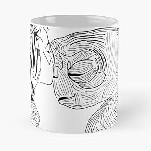 E T Movie Poster Steven Spielberg Universal Pictures Illustration Drawing Minimalism - Coffee Mugs,handmade Funny 11oz Mug Best Holidays Gifts For Men Women Friends.