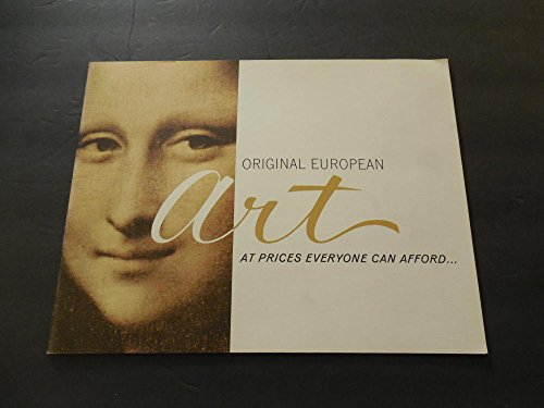 Prices Record Art (Original European Art At Prices Everyone Can Afford Cory Imports)