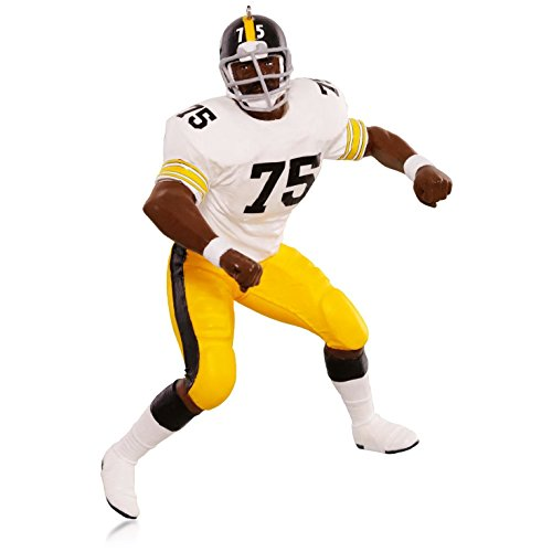 "Hallmark QXI2699 NFL Pittsburgh Steelers Joe ""Mean Joe"" Greene Ornament at Steeler Mania"