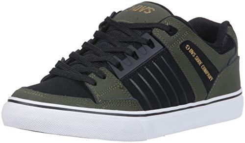Dvs Chaussures Celsius Ct Deegan - Militaire / Olive Noir Nubuck D'olive