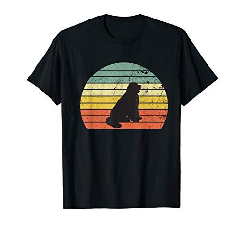 Newfoundland Shirt Vintage Dog Retro t-shirt